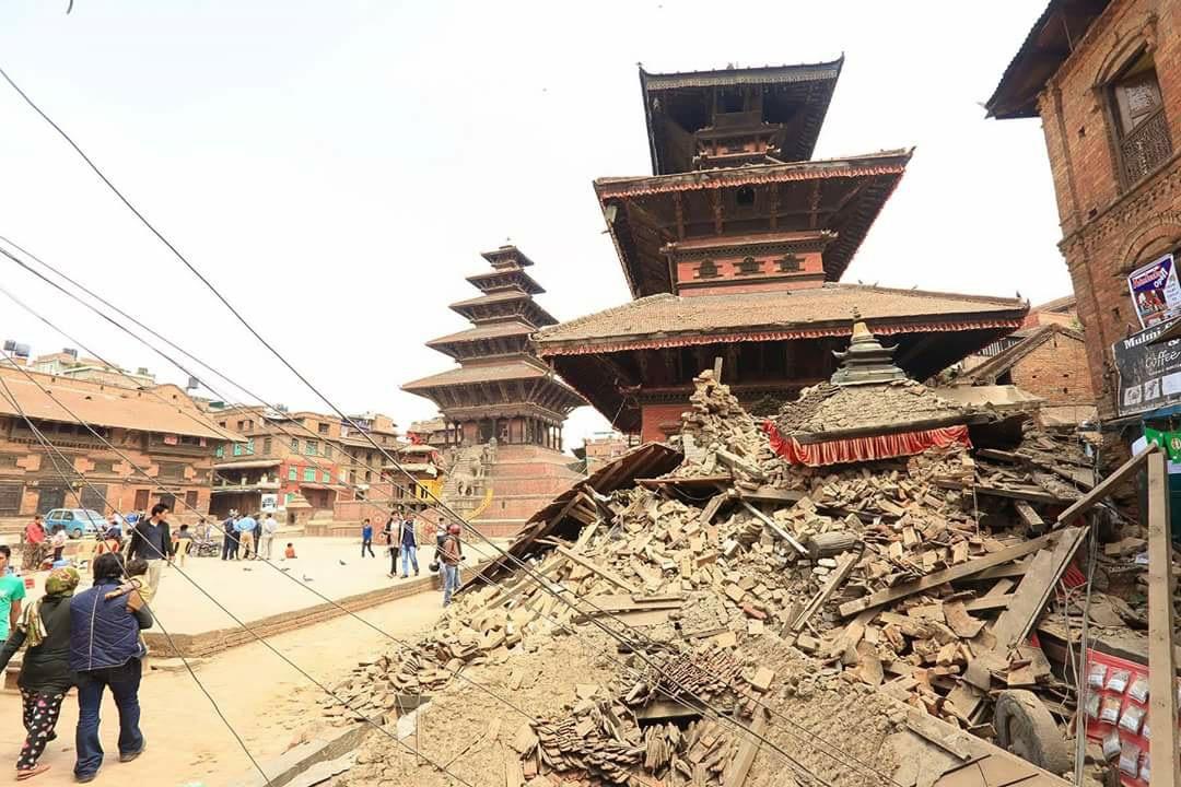 ネパール地震写真6(2015.5.6ダカル)