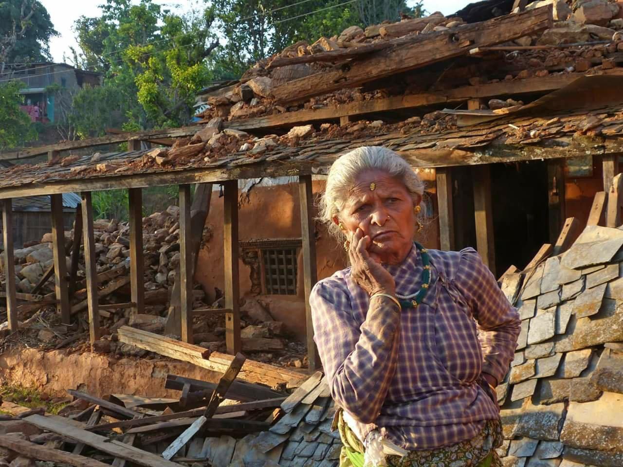 ネパール地震写真5(2015.5.6ダカル